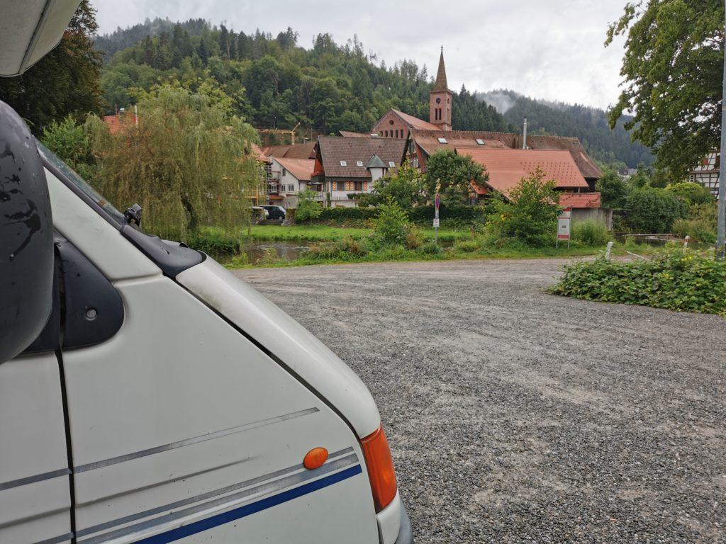 Parking à Schiltach