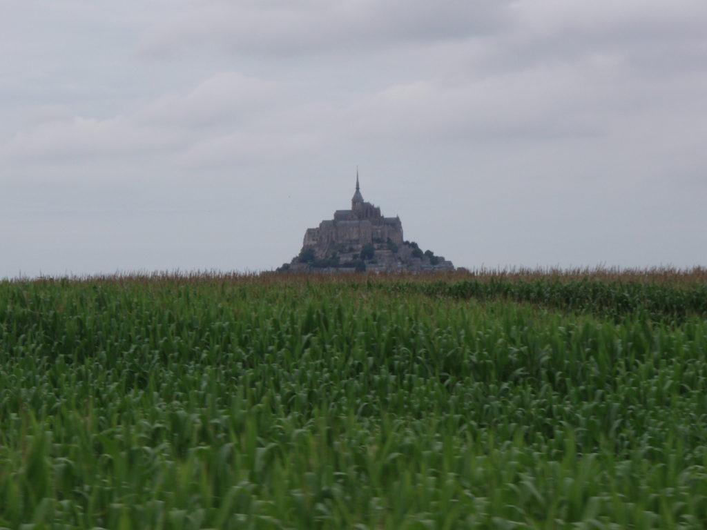Le Mont Saint-Michel vu d'Avranche