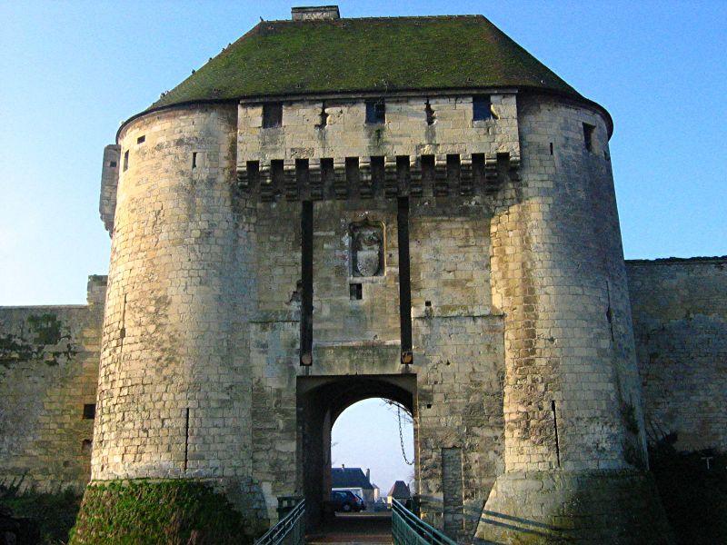 Porte des Champs à Caen
