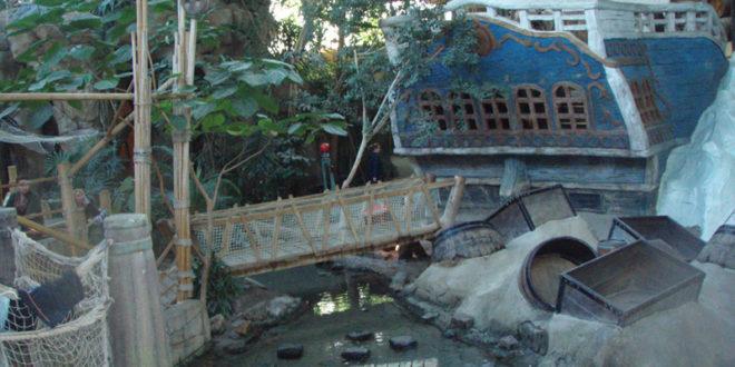 Dôme des pirates au Center Parc de De Vossemeren