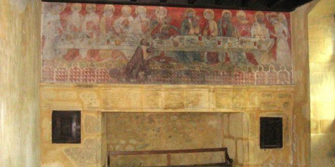 Fresques murales à Champdieu