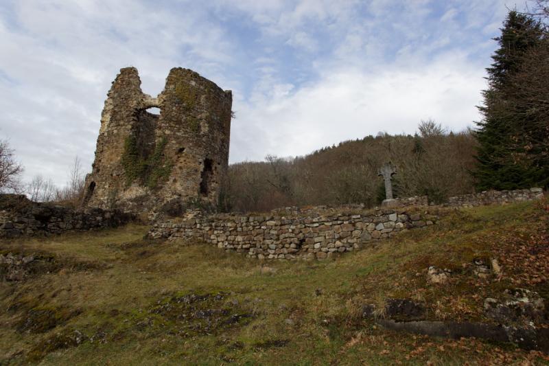 Ruines à la Chartreuse du Port-Sainte-Marie