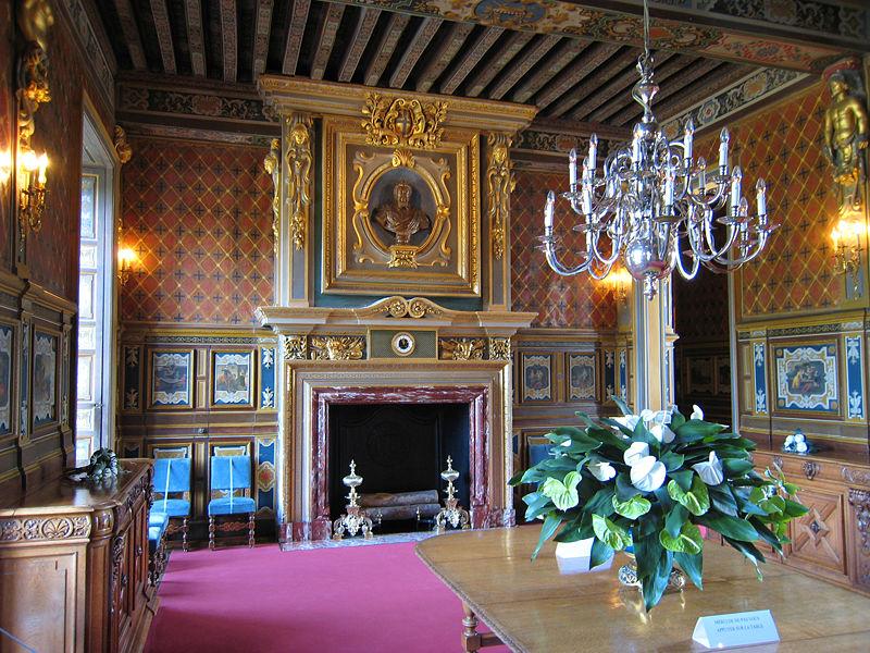 Salle à manger du château de Cheverny