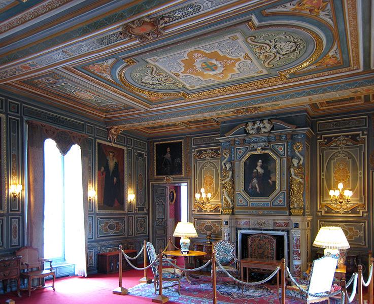 Grand salon du château de Cheverny