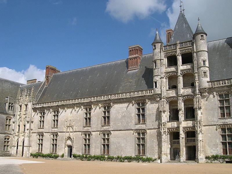 Façade Longueville à Châteaudun