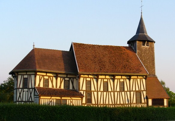 Eglise à pans de bois de Châtillon-sur-Broue