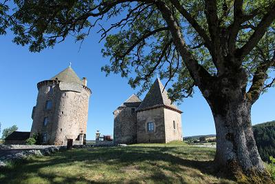 Château de Couffour à Chaudes-Aigues
