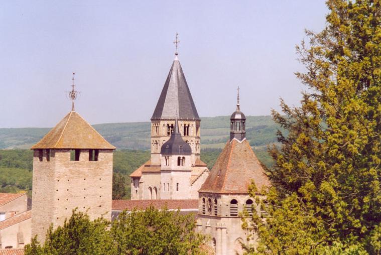 Tours et clochets de Cluny