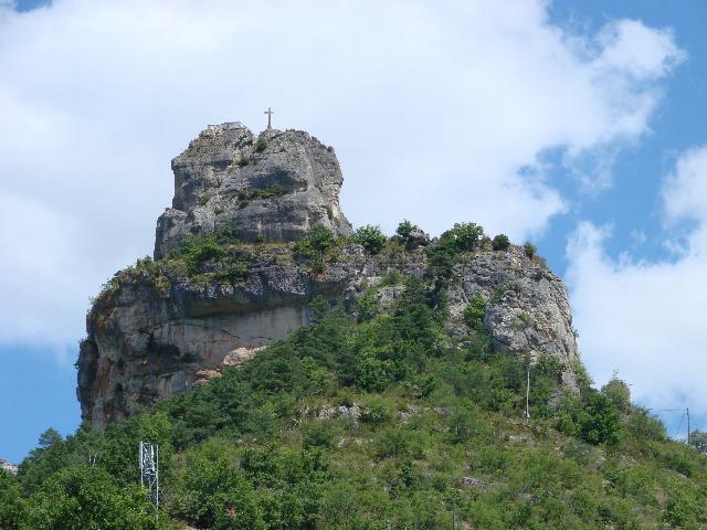 Rocher de Capluc à la Corniche du Causse Méjean