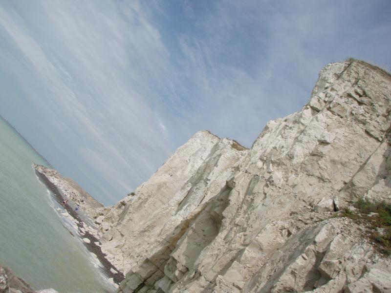 Les falaises de Caux