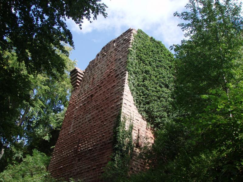 Le donjon du château de Falkenstein