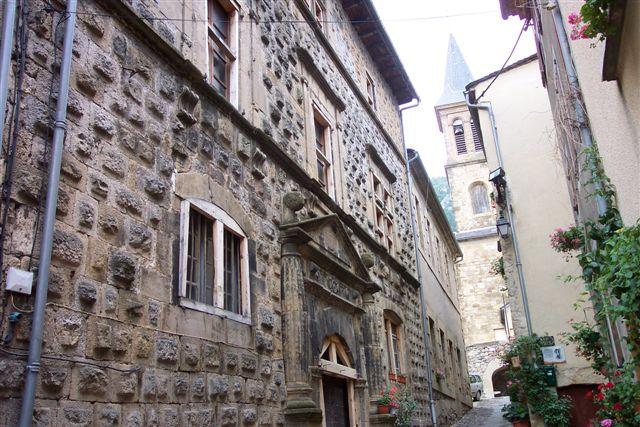 Une rue de Florac