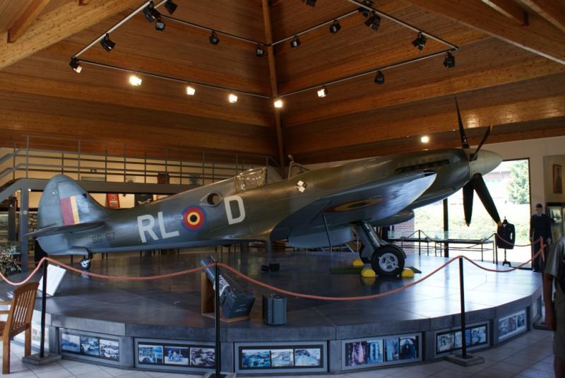 Un Supermarine Spitfire à Florennes