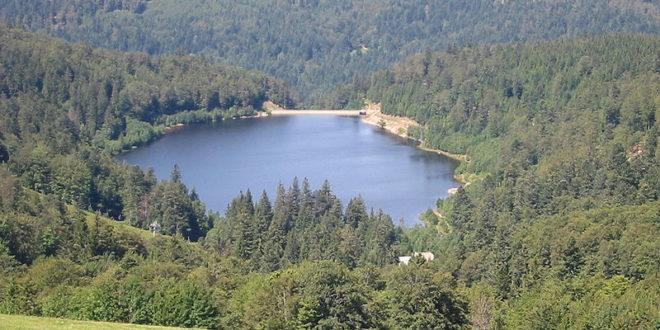 Le Lac de la Lande dans les Vosges