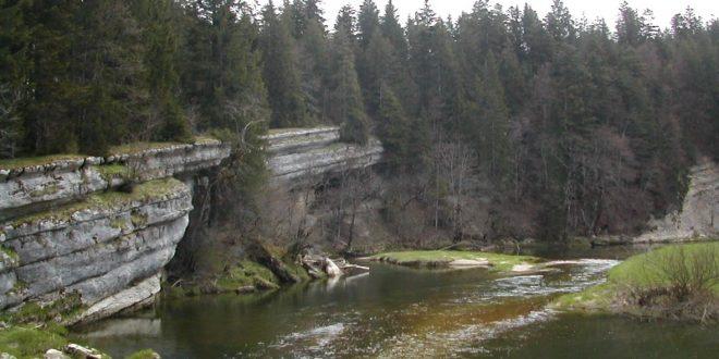 Défilé d'Entre-Roches près de Montbenoît