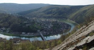 Une boucle de la Meuse à Monthermé