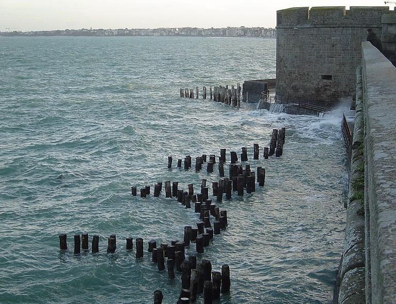 Plage de l'Eventail à Saint Malo