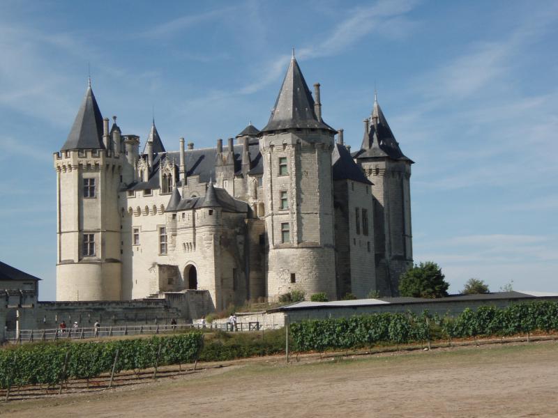 Le château de Saumur