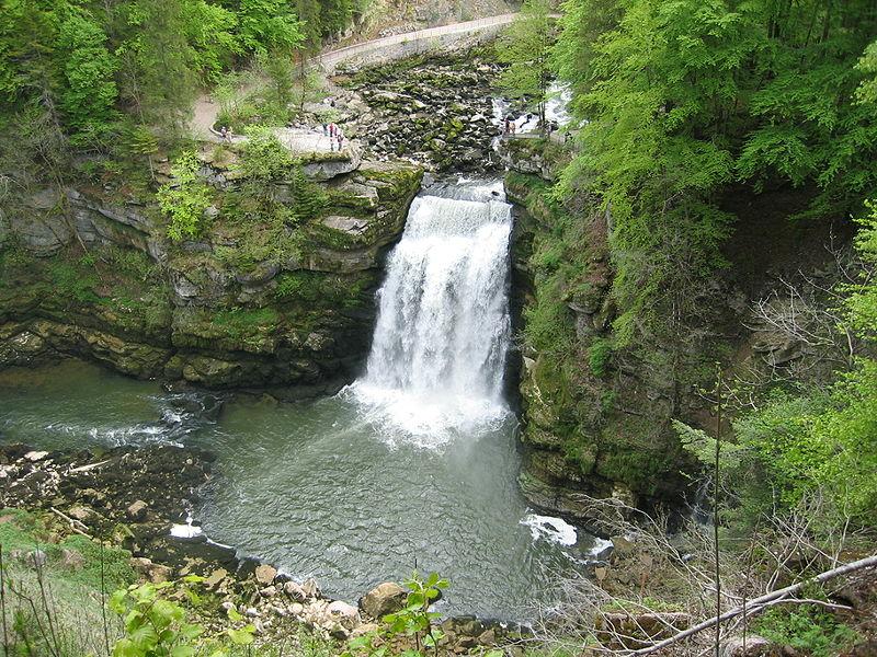 Le Saut du Doubs près de Villers-le-Lac