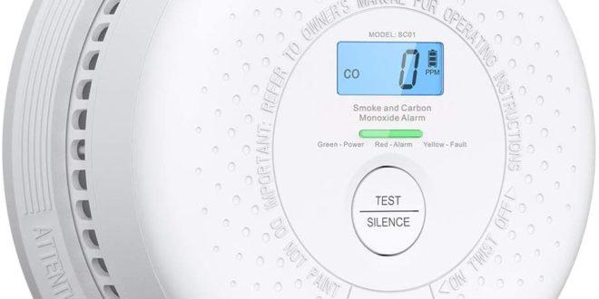 Détecteur de fumée et de monoxyde de Carbone