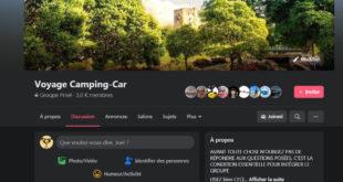 Groupe du Voyage en Camping-car