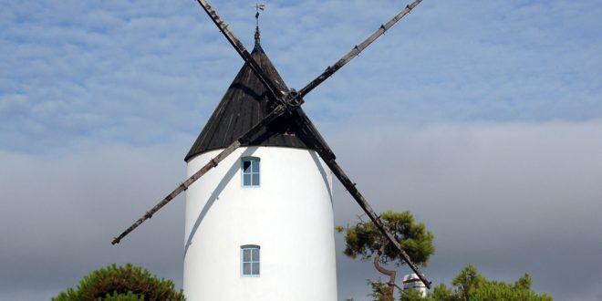 Moulin de la Bosse sur l'Ile de Noirmoutier
