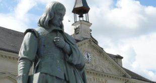 Statue de René Descartes