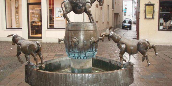Fontaine des ânes de Diekirch