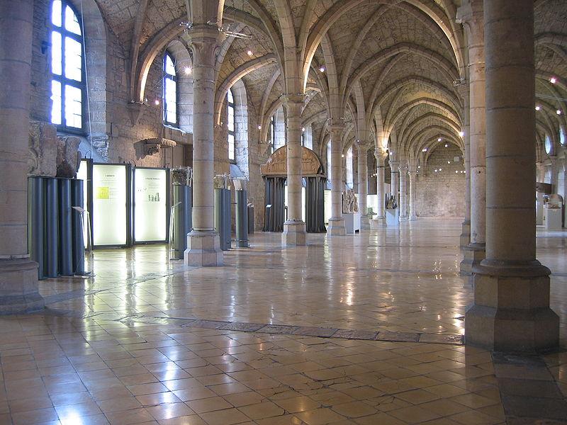 Dortoir des moines à Dijon