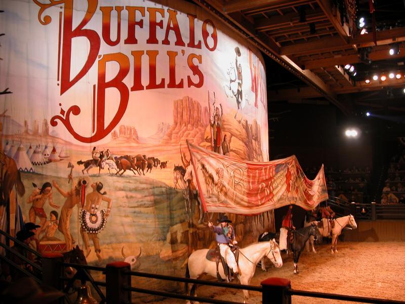 Buffalo Bill's Show à Eurodisney