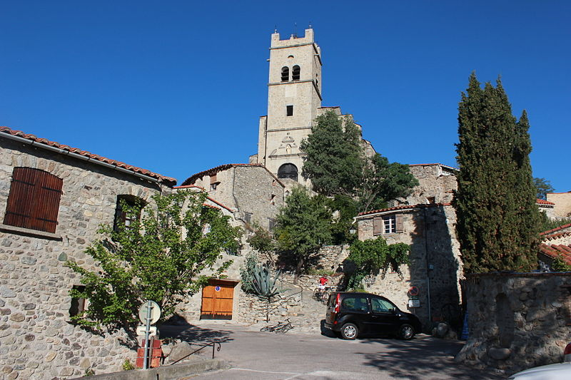 Eglise St Vincent d'en Haut à Eus