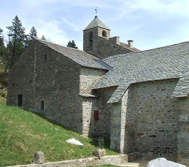 Chapelle de l'Ermitage à Font-Romeu-Odeillo-Via