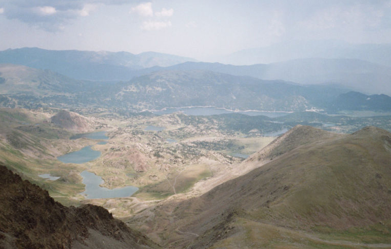 Pic du Carlit sur Font-Romeu-Odeillo-Via