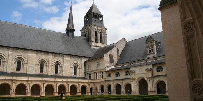 Cloître du Grand Moutier à Fontevraud-l'Abbaye