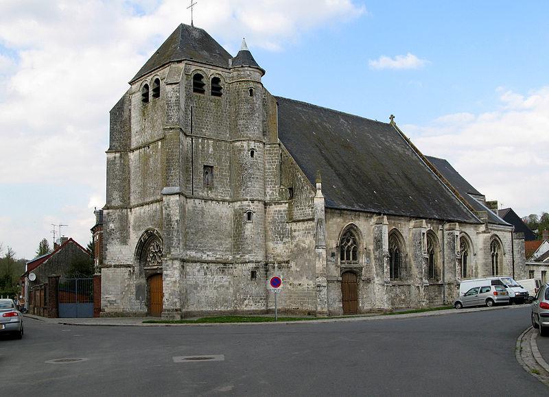 L'église Saint-Hilaire à Frévent