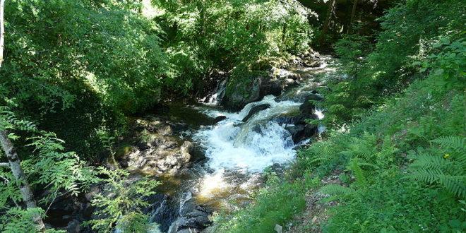 Cascade de la Redole à Gimel-les-Cascades