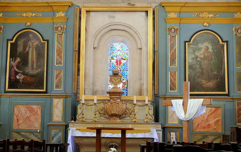 Eglise Saint-Pardoux à Gimel-les-Cascades