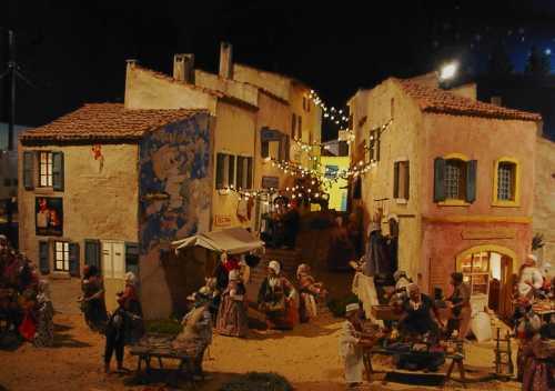 Village miniature à Grignan
