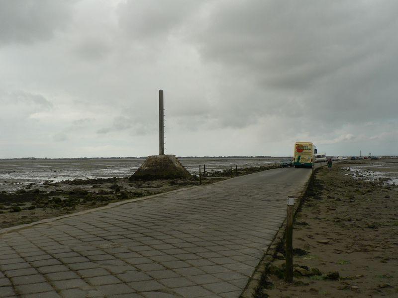 Passage du Gois vers l'Ile de Noirmoutier