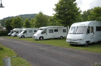 Aire de camping-car du Lac d'Aydat