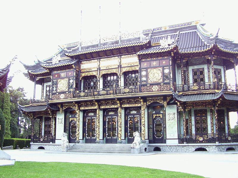 Pavillon chinois à Laeken