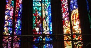 Vitraux Chagall dans la cathédrale de Metz