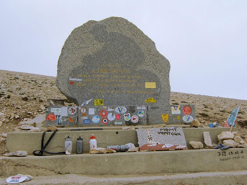 Mémorial Tom Simpson au Mont Ventoux