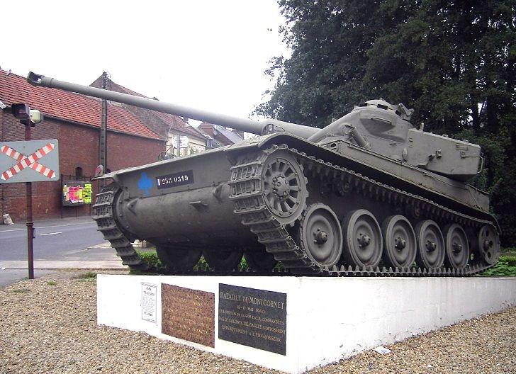 Char AMX-13 à Montcornet