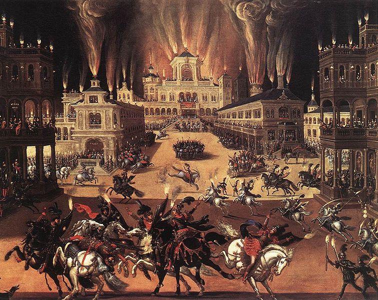 Allégorie du Feu à Orléans