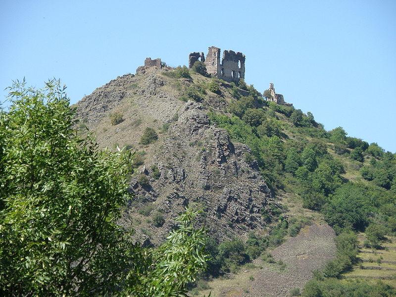 Château ruine d'Artias près de Retournac