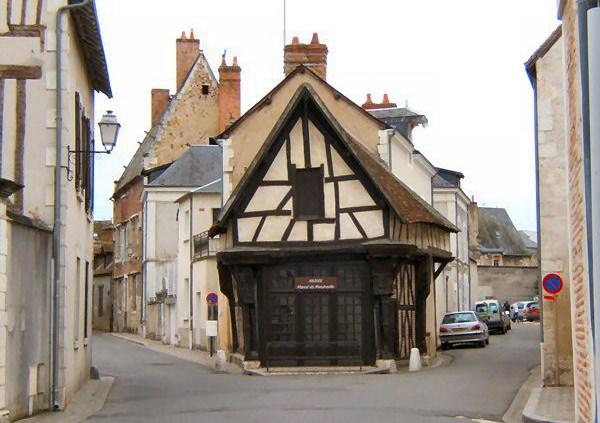Le carroir doré à Romorantin-Lanthenay