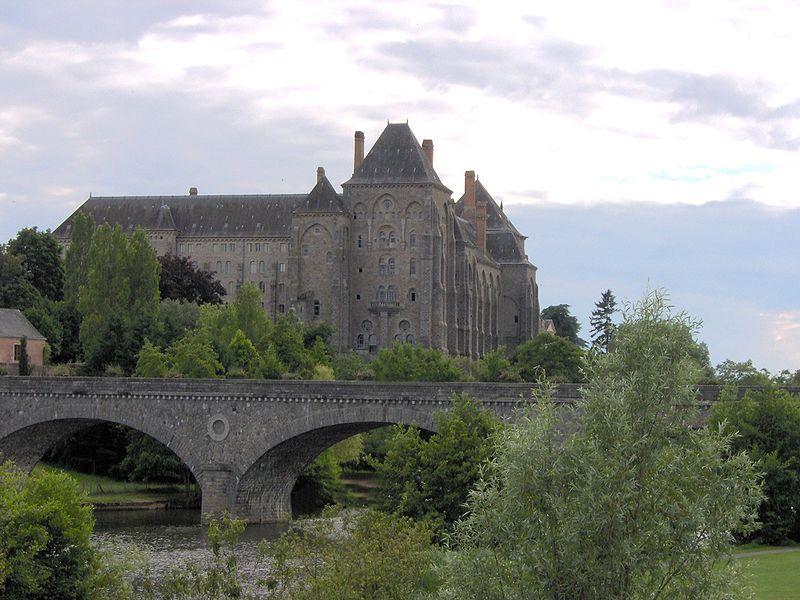 Abbaye Saint-Pierre à Sablé-sur-Sarthe