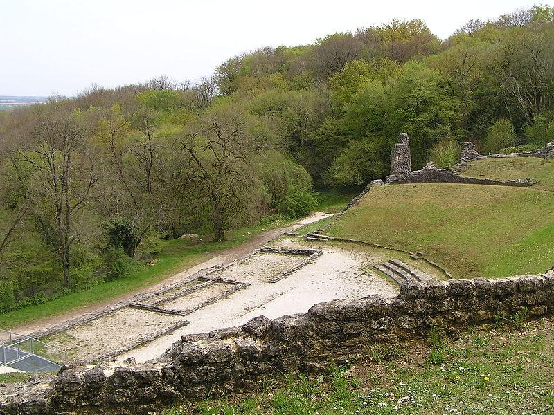 Théâtre gallo-romain à Saint Cybardeaux