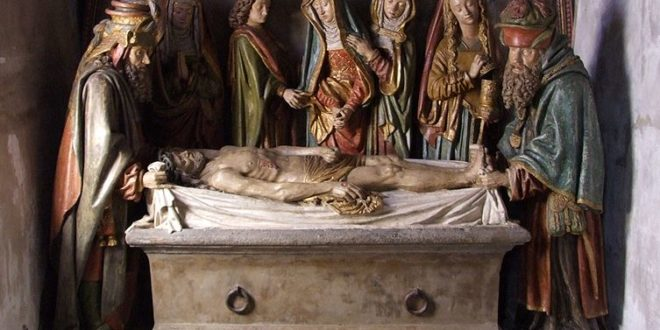 Mise au tombeau à Salers